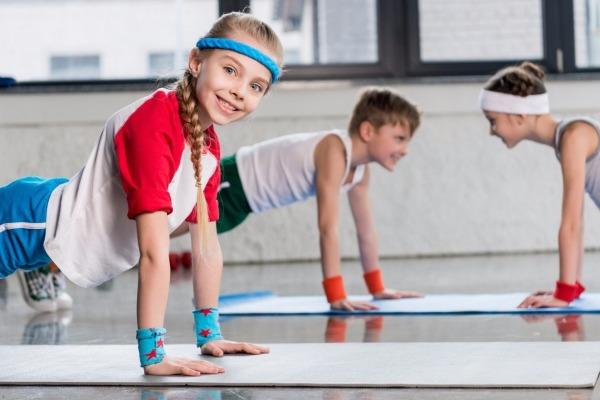физическая нагрузка для детей-Телепедиатр